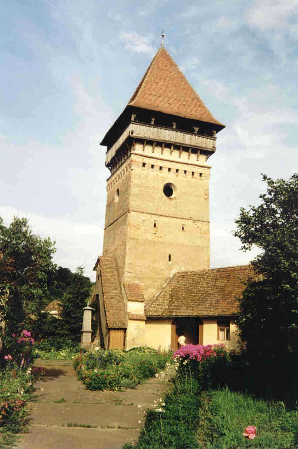Kirchturm von Gross-Alisch